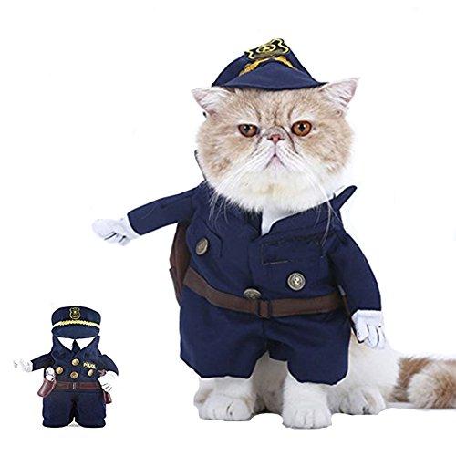 Morbuy Reizende Katzenkostüm Hunde Haustier Kleidung, HundeKostüm Hundebekleidung Kostüme Kleidung Katze lustiges Kleid cosplay (S, Farbe 3) (Bären, Kleine Halloween Kostüm Drei)