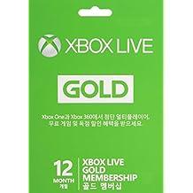 XBox Live Gold Card 12 Monate [UK Import]