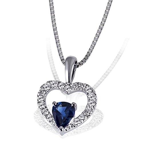 Goldmaid Damen-Herz-Halskette