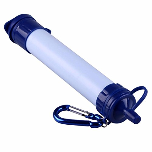 Preisvergleich Produktbild Joyeer Mini Wasserreiniger Outdoor Camping Wandern Stroh Trinkwasser Filter Portable Filter Strohhalme Umweltschutz Notfall Überleben Reinigen Wasser