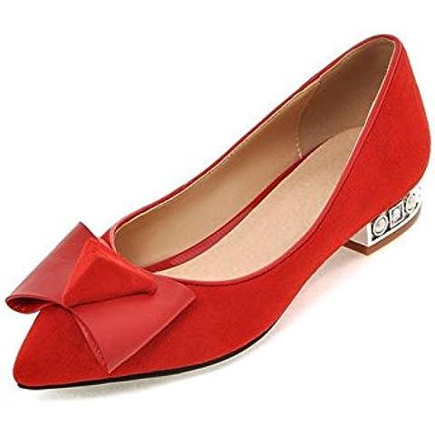 Autunno moda scarpe a punta piatte in Europa e in America/ Appartamenti superficiale barca scarpa/ bow tie donne scoop