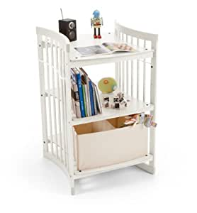 CARE by Stokke Table à langer blanc