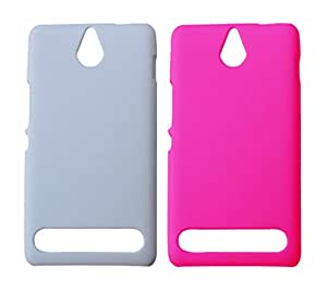 Winsome Deal Exclusive Hard Back Cover Case for Sony Xperia E1 (Pack of 2)