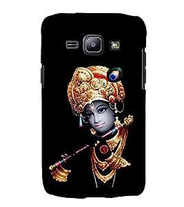 Lord Krishna 3D Hard Polycarbonate Designer Back Case Cover for Samsung Galaxy J2 (2015) :: Samsung Galaxy J2 J200F
