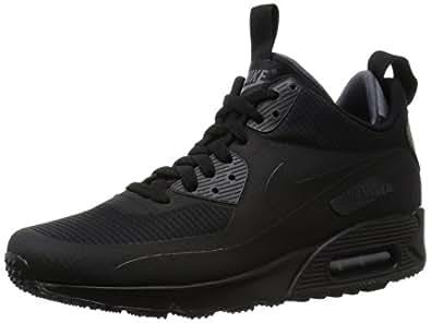 Nike Air Max 90 Mid Winter (SchwarzSchwarz) SchwarzSchwarz Schwarz 806808 002