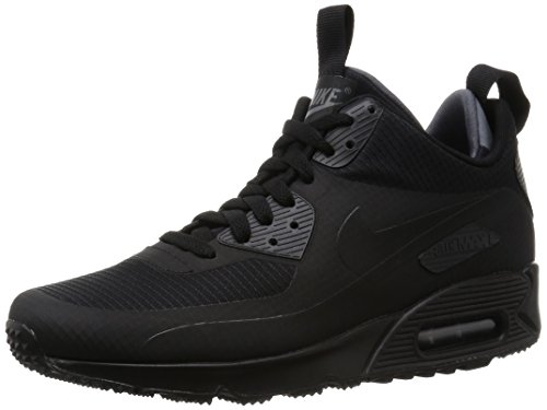 Nike Herren Air Max 90 Mid Winter Sneakers, Black