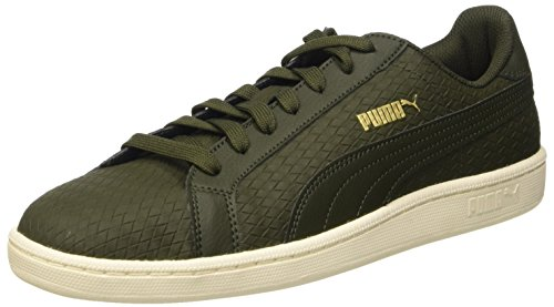 Puma Smash Tessuta Sneaker Verde (foresta Notte / Foresta Notte)