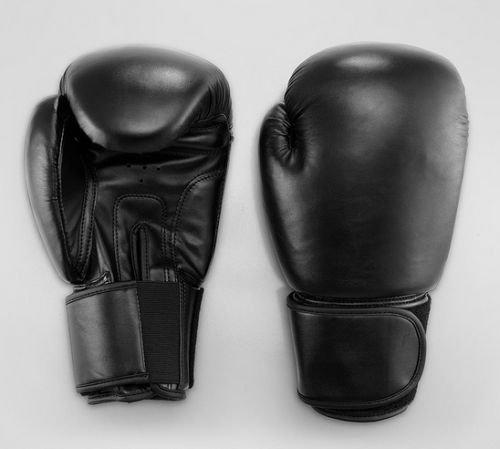 Hochwertige Boxhandschuhe in Schwarz 12 oz