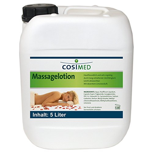 cosiMed Massagelotion, Massage Lotion, 5 l
