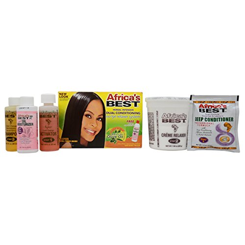 Kopfhaut Conditioning Creme (Africa's BEST NO-LYE DUAL CONDITIONING RELAXER SYSTEM SUPER)
