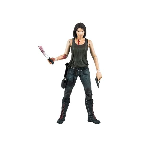 Figura The Walking Dead Maggie Greene with Assault Rifle, Gun and Knife 1