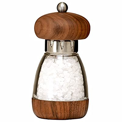 William Bounds 5.75-inch Mushroom Salt Mill, Walnut from Bounds