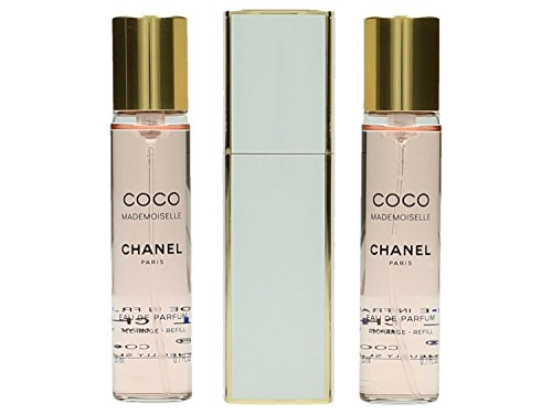 Chanel Coco Mademoiselle femme/woman, Eau de Parfum, 3 x 20 ml (1 Taschenzerstäuber und 2 Nachfüller)