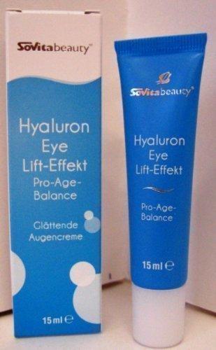 Hyaluron Eye Lift-Effekt Augencreme 15 ml