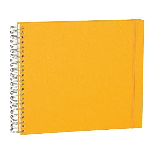 Semikolon (352993) Maxi Mucho Album sun (gelb) | Spiral-Fotoalbum mit 90 Seiten u. Leinen-Einband |...
