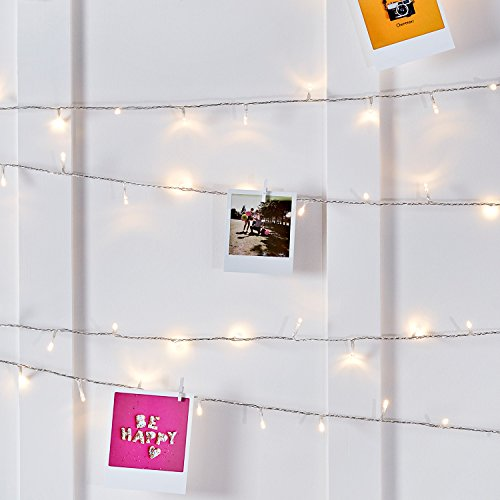 Lights4fun Indoor Fairy Lights with 200 Warm White LEDs on 16m of...
