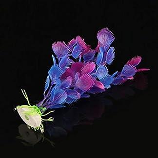 Artificial Water Plants Fake Plant Aquarium Decor New Fish Tank Plastic Ornaments 14