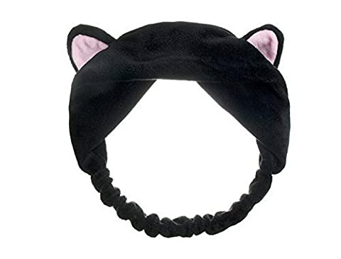1PCS Women Cute Cat Ears Headband Hairband for Wash Your Face and Make up by erioctry
