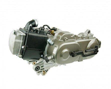 Preisvergleich Produktbild Motor komplett 10 Zoll 50cc GY6 China 4takt 139QMA ohne SLS - Jackfox-Formula One (YY50QT-6)