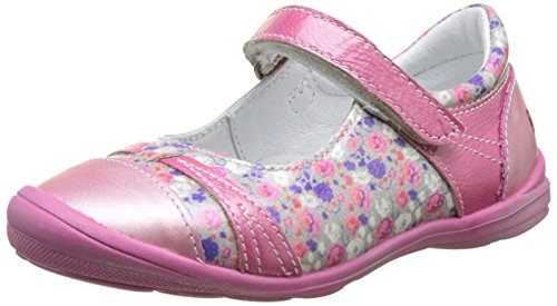GBB Princesse, Ballerines Femme Rose (Vnv Fushia-Imprime Dpf/Festa)