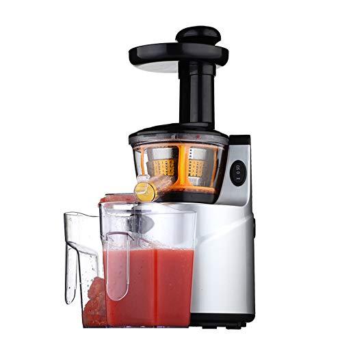 WLM Entsafter, vollautomatische langsame Saftmaschine, Haushalt Multifunktionale Sojabohnen-Milch-Maschine, Baby-Saft-Maschine,Weinrot,Einheitsgröße