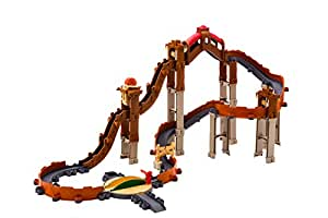 Tomy Chuggington - LC54571 - Circuit de Trains Miniatures et Rails - la Vieille Mine