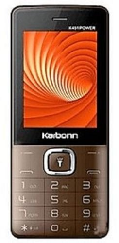 Karbonn K451 Power (Coffee-Black)