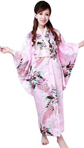 YiyiLai Stoffdruck Japanisch Kimono komonos Kostüm Einheitgröße -
