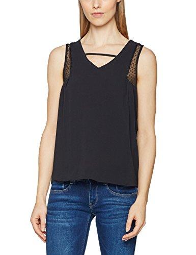Naf Naf Damen T-Shirt Schwarz