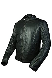 "Windsoroyal - Motorradjacke ""Warwick"" für Herren, für Frühling/Sommer, Schwarz, M (B07CY7LTS3) 