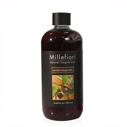 Recharge diffuseur à bâtonnets 500 ml - Santal Bergamote