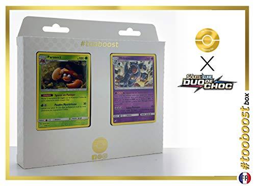 Parasect 7/181 Y Nidoqueen 56/181 - #tooboost X Soleil & Lune 9 Duo de Choc - Box de 10 Cartas Pokémon Francés + 1 Goodie Pokémon