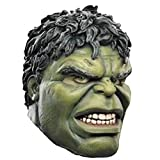 QQWE Halloween Maske Marvel The Avengers Hulk Kopf Cosplay Maskerade Thema Party Film Performance Requisiten,A-OneSize