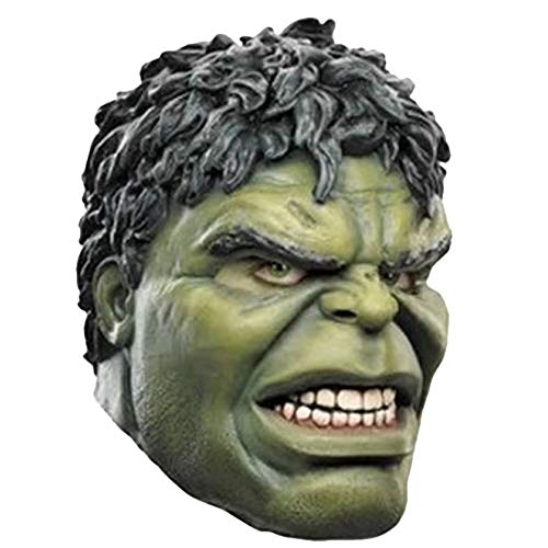 QQWE Halloween Maske Marvel The Avengers Hulk Kopf Cosplay Maskerade Thema Party Film Performance ()