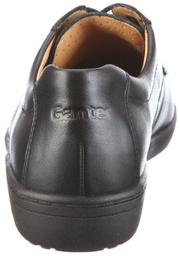 Ganter Anke 2-205087, Scarpe basse donna Nero (Schwarz/schwarz)