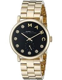 Marc Jacobs MBM3421 - Reloj de pulsera Mujer, Acero inoxidable, color Oro