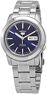 Seiko Men's Series 5 Automatic Watch, Blue, SNKE