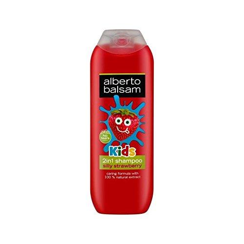 Alberto Balsamo 2 In 1 Bambini Fragola Shampoo E Balsamo 250Ml - Confezione da 6