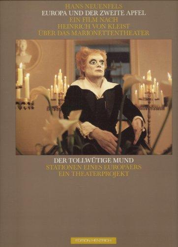 Europa und der zweite Apfel: Nach Heinrich von KleistsÜber das Marionettentheater