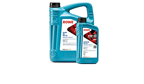 6 5l 1l Liter Rowe Hightec Synt Rs Sae 5w 30 Hc C2 Motoröl Made In Germany Auto