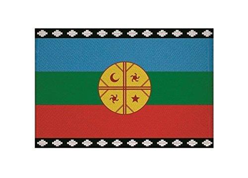 U24 Aufnäher Mapuches Indianer Fahne Flagge Aufbügler Patch 9 x 6 cm