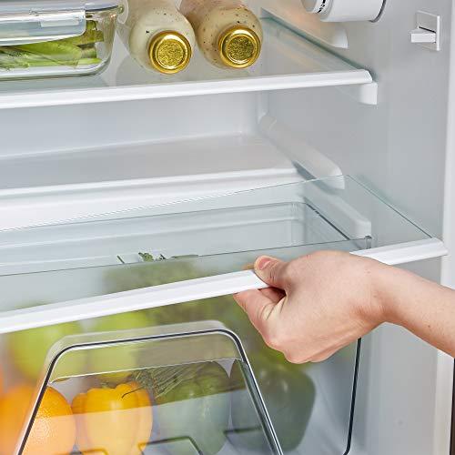 41 VVmfGKHL. SS500  - VonShef 85L Freestanding Under Counter Fridge Freezer With Reversible Door, Adjustable Temperature Control and Internal…