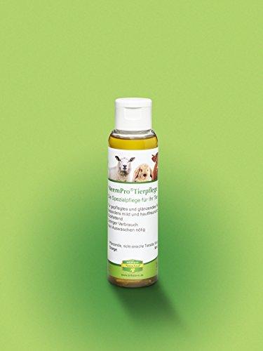 NeemPro Tierpflege 100 ml für gepflegtes Fell Haustier Hund Shampoo mit Margosaextrakt Neem ohne Auswaschen - 2