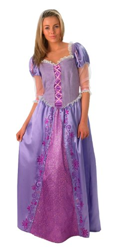 Disney Märchen Tangled Damen Kostüm Prinzessin Rapunzel Gr.S