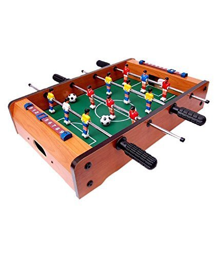 Toyshine Mid-sized Foosball, Mini Football, Table Soccer Game - Lets Have fun!  available at amazon for Rs.1499