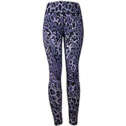 ♚ Pantalón de Leopardo para Mujer, Leggings para Mujeres Fitness Deportes Gimnasio Running Yoga Athletic Pants Absolute
