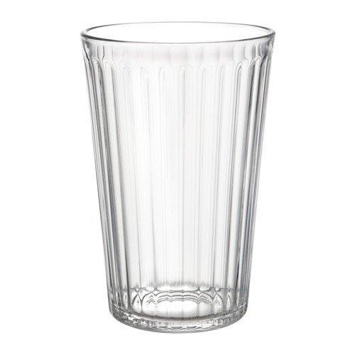 IKEA VARDAGEN Gläser aus Klarglas; (43cl); 6 Stück