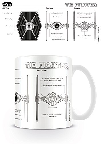 Pyramid International Star Wars Taza Tie Fighter Sketch