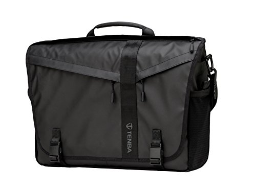 Slim Messenger Bag (Tenba DNA 15 Slim Messenger Bag (Special Edition) Umhängetasche, 41 cm, Schwarz (Black))