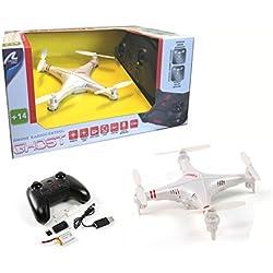 Drone radiocontrol con cámara Ghost. Orientacion automatica (headless), retorno automatico y estabilizador de altura